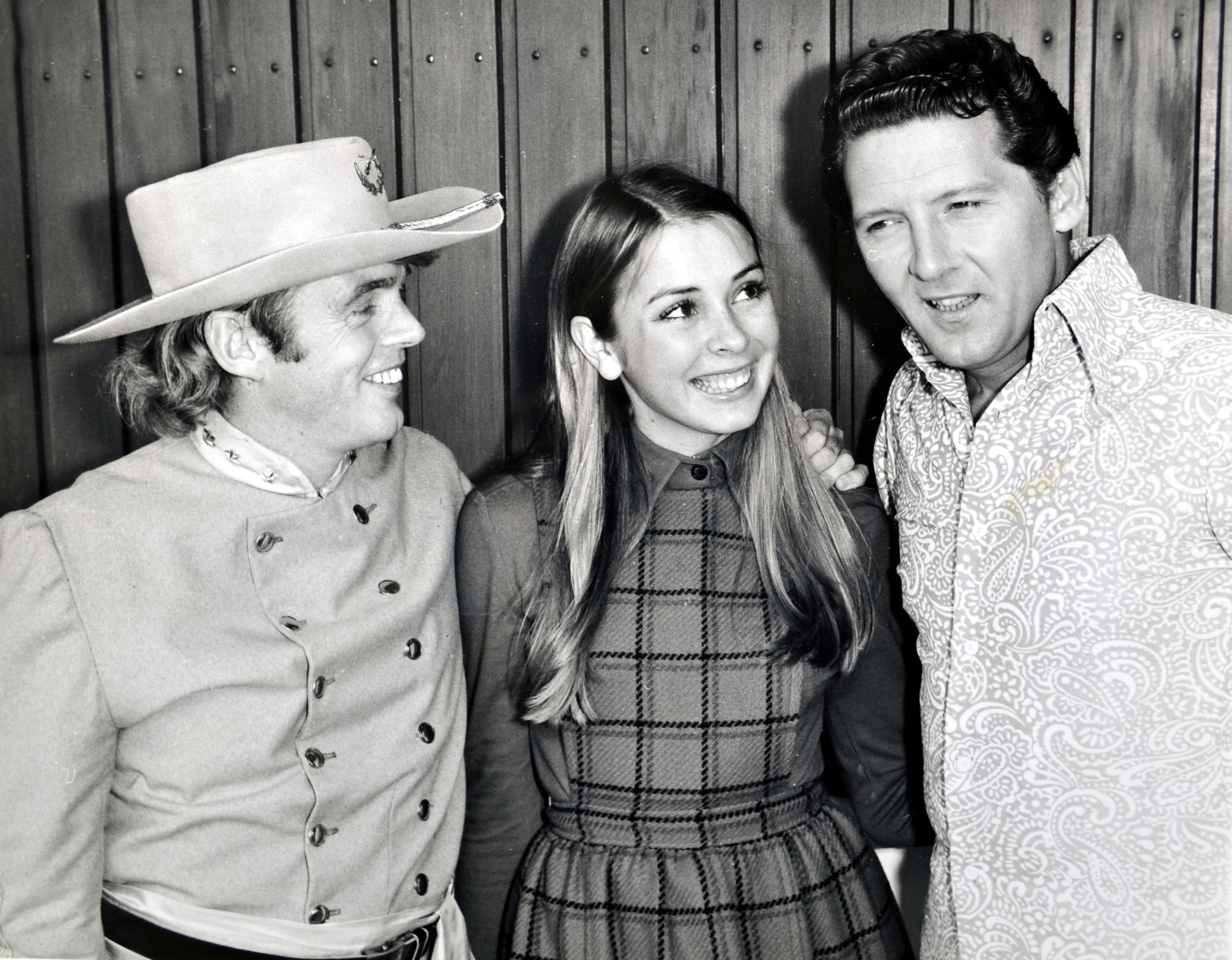 Ward & Irene meet Jerry Lee Lewis in 1971